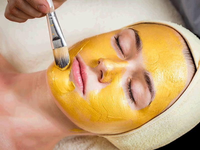 تاثیر ماسک زردچوبه بر پوست
