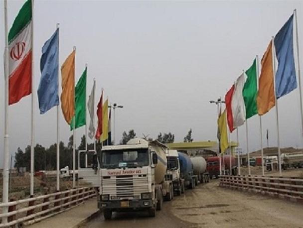 خروج 168 هزار کامیون صادراتی از مرزهای خسروی و پرویزخان