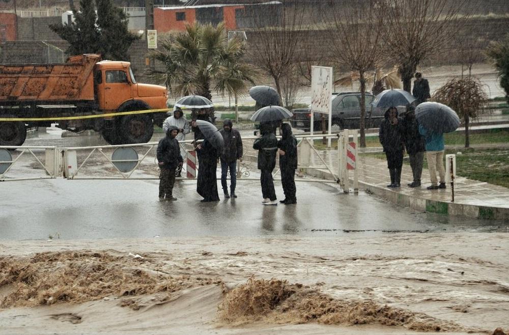 تخلیه منازل ساحلی خرم رود خرم آباد