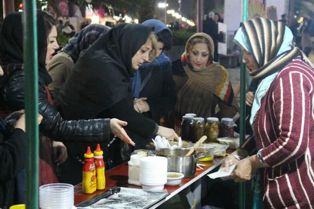 جشنواره کدو در پیاده راه فرهنگی شهرداری رشت2
