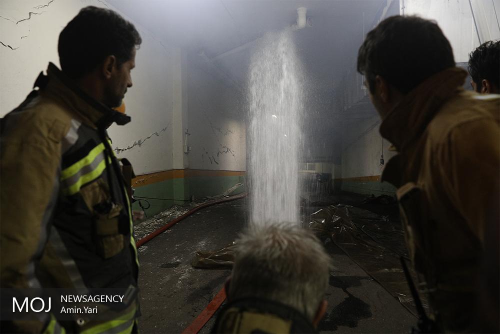 عمدی بودن آتش سوزی ساختمان شرکت برق