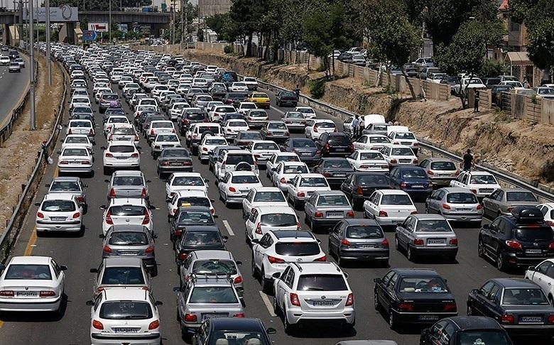 ترافیک در محورهای گیلان