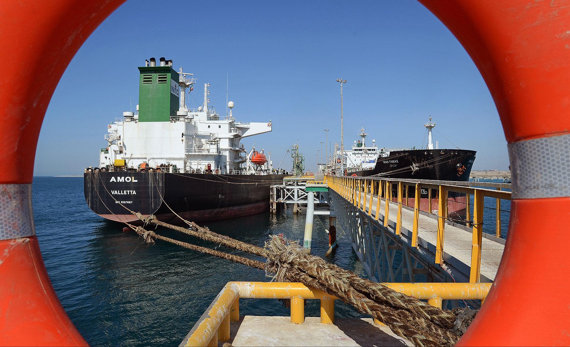 کاهش صادرات نفت ایران به هند