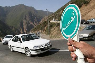 توقف 72 ساعته خودرو در انتظار رانندگان مخاطرهآمیز
