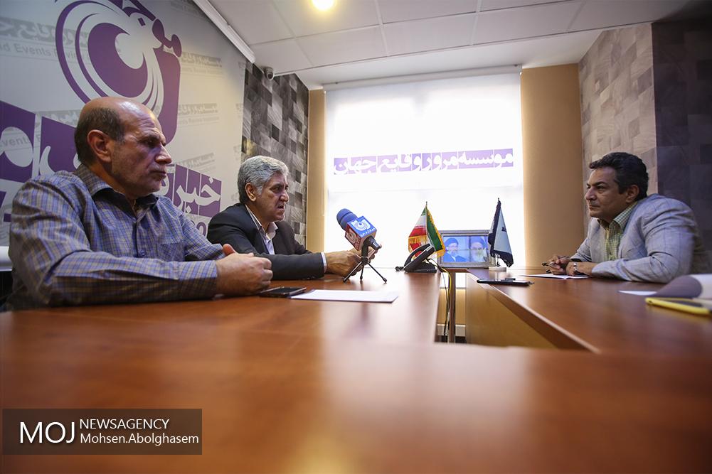 حضور دبیران جشنواره هنرهای تجمسی فجر در خبرگزاری موج