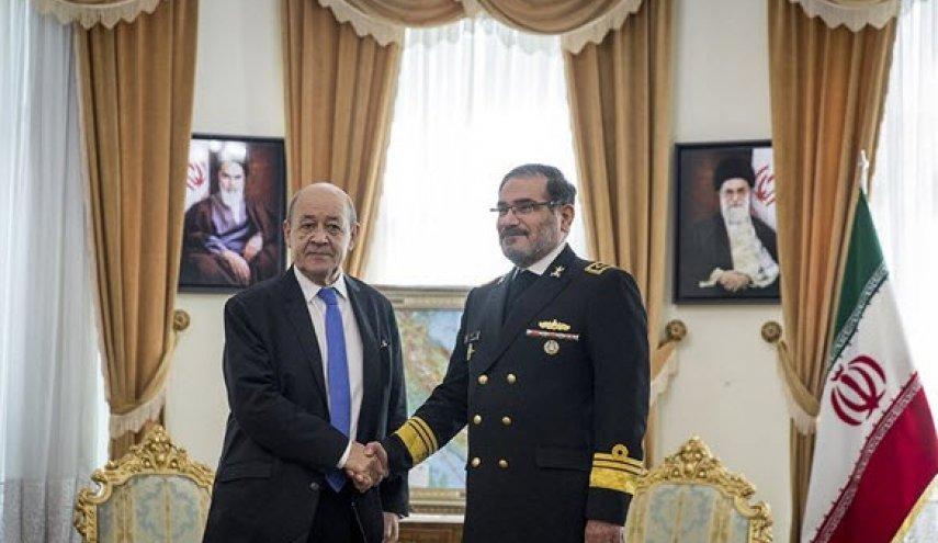 سفر وزیر امور خارجه فرانسه به تهران
