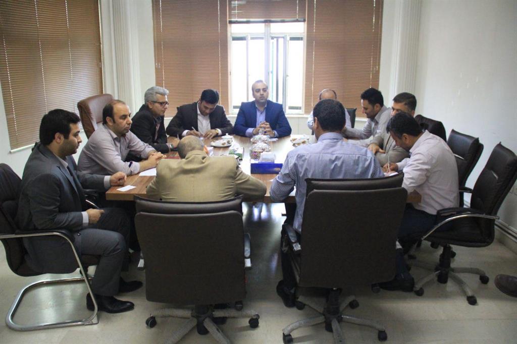 انتخاب شورای کار شهرداری رشت