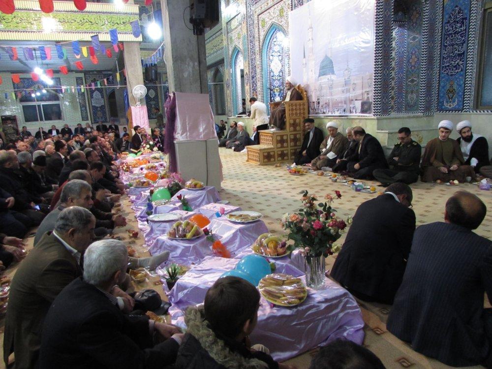 آیت الله فلاحتی در مسجد جامع پره سر2