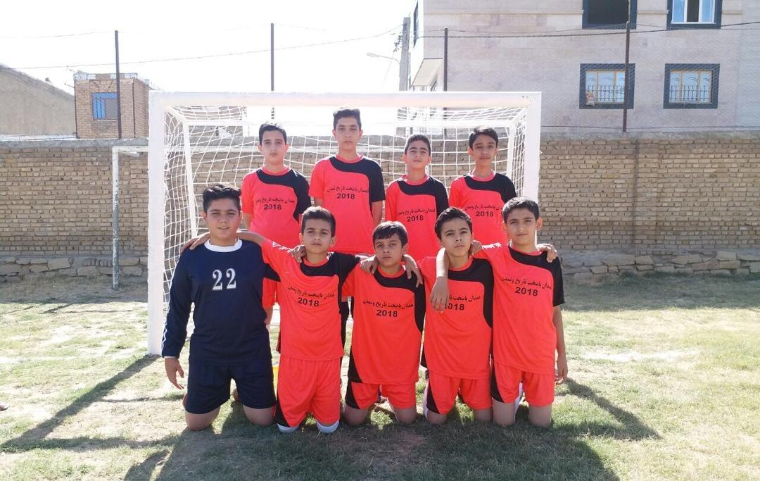 فوتبال محلات همدان