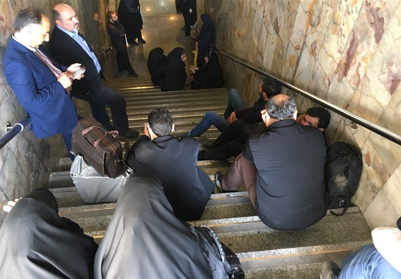 اصحاب رسانه در مترو
