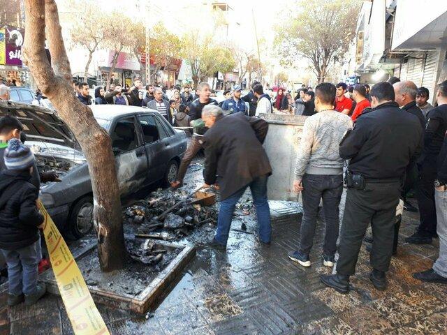 انفجار مواد محترقه