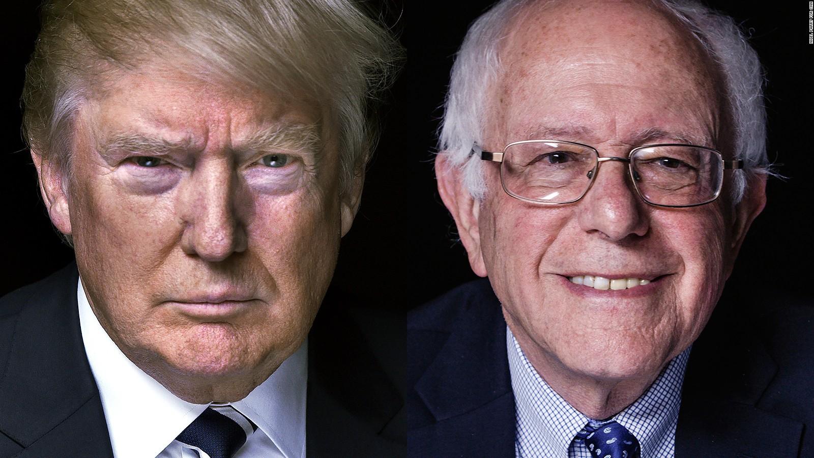 سندرز و ترامپ