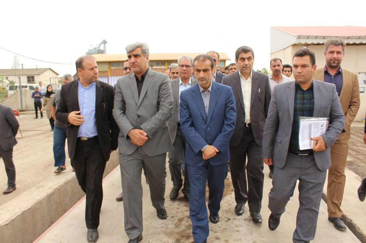 افتتاح کارخانه تولید آسفالت در شهرک صنعتی سفیدرود رشت