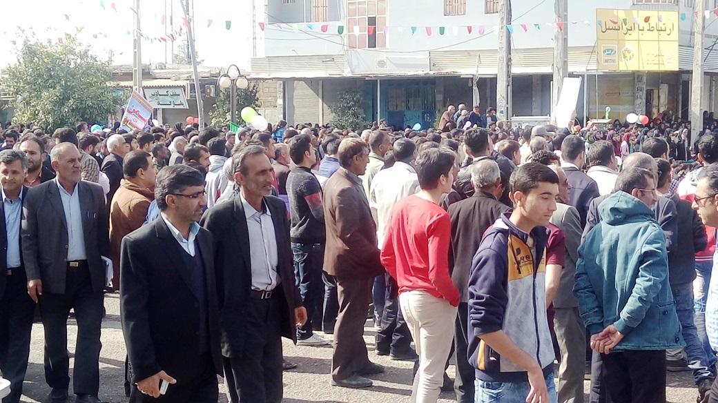 راهپیمایی 22 بهمن چرام (22)