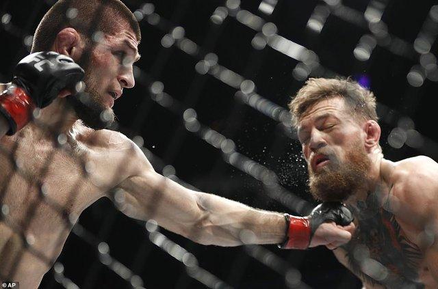 مبارزه مک گرگور و خبیب
