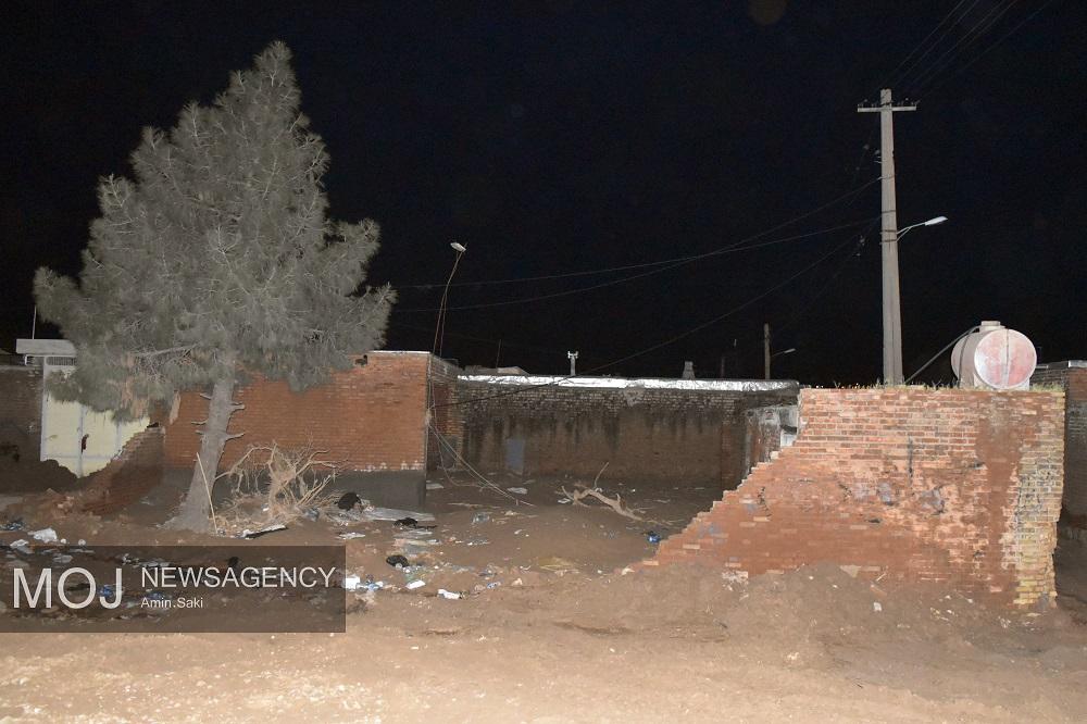 روستای بابازید و خانه های ویران