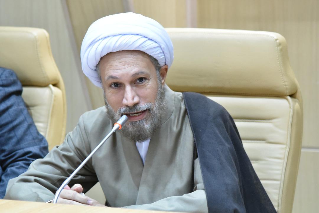 آیت الله لطف الله دژکام امروز در دیدار اعضای شورای عالی هیئات مذهبی شیراز