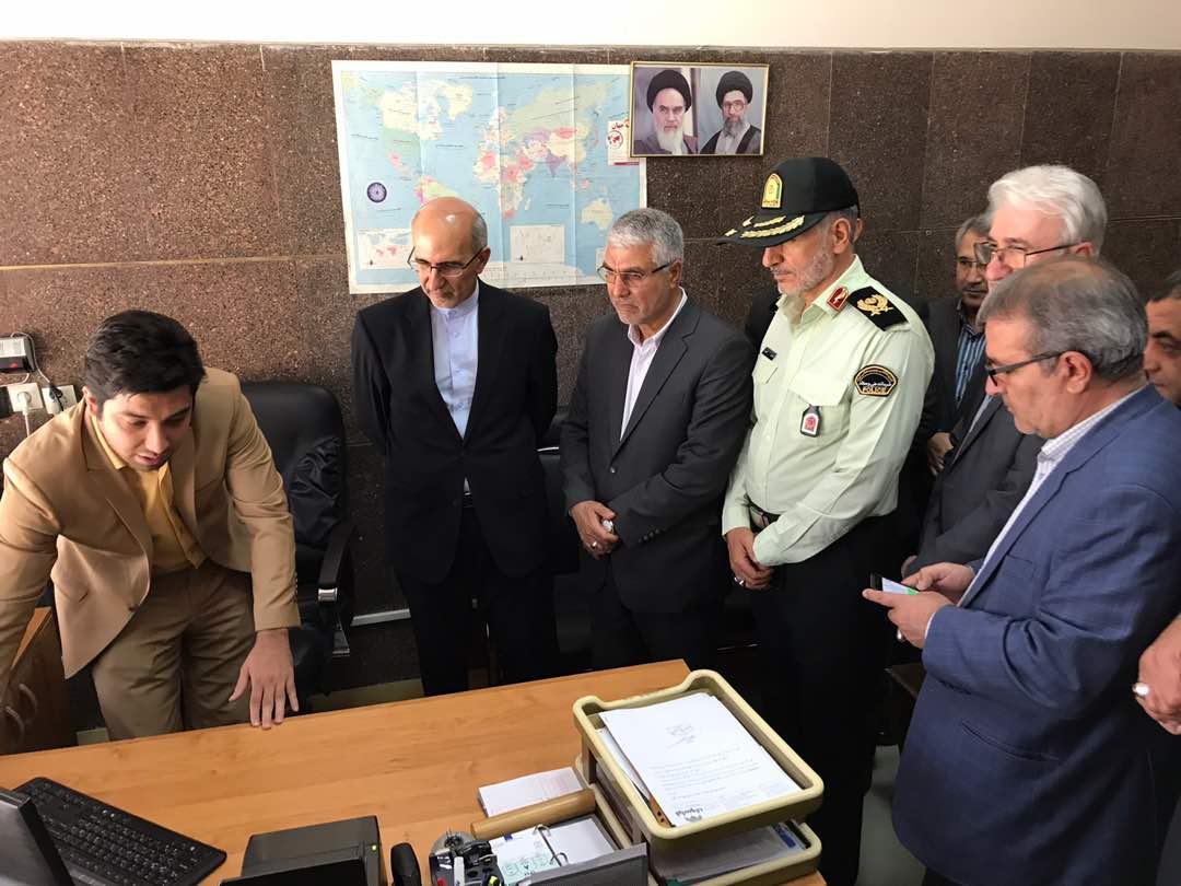 فرودگاه بین المللی شهید دستغیب شیراز به خدمات روادید الکترونیک مجهز شد