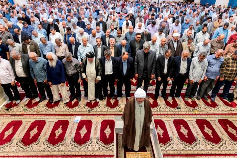 نماز عید قربان در گیلان