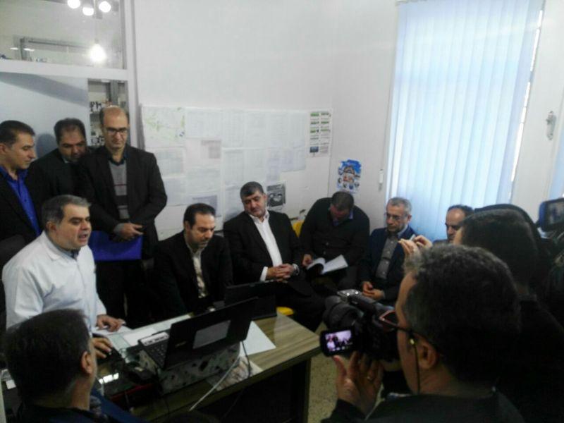 بازدید معاون بهداشتی وزارت بهداشت از مرکز خدمات جامع سلامت شهری و روستایی مرجقل