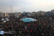 راهپیمایی مردمی حمایت از اقتدار و امنیت در تهران (۱)