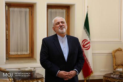 دیدار نماینده ویژه سازمان ملل متحد در امور سوریه با ظریف/محمد جواد ظریف وزیر امور خارجه