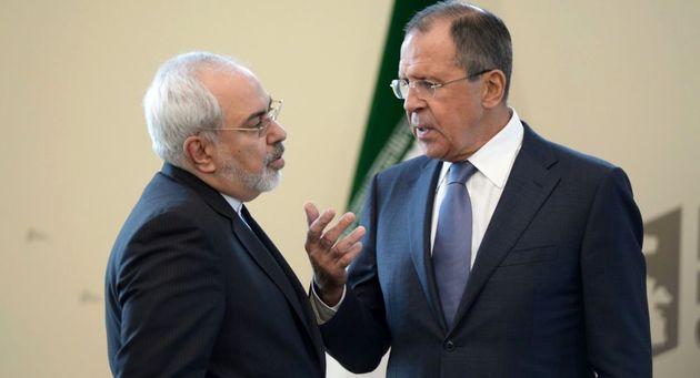 ظریف با وزیر خارجه روسیه دیدار کرد
