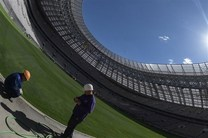پایان رسمی کار آمادهسازی ورزشگاه افتتاحیه و فینال جام جهانی ۲۰۱۸