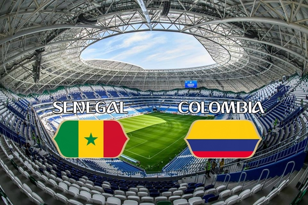 پایان بازی سنگال کلمبیا در نیمه اول