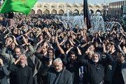 تجمع بزرگ عزاداران در اربعین حسینی در میدان امام علی (ع)