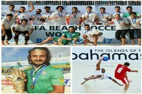 روحانی کسب مقام سوم تیم فوتبال ساحلی در مسابقات جهانی را تبریک گفت