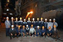 تعمیرات دیگ اوتیلیزاتور کنورتور شماره 2 بخش فولادسازی با موفقیت انجام شد