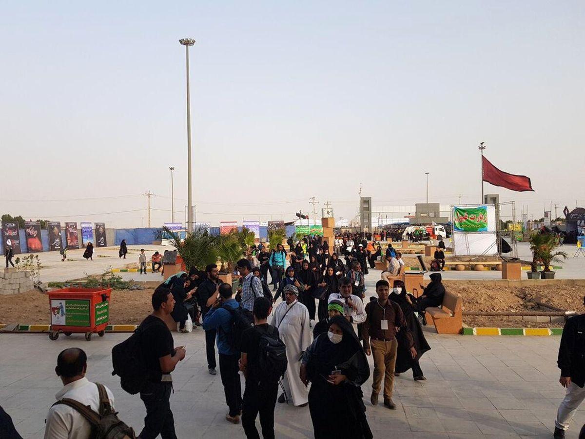 بازگشایی مرز شلمچه برای بازگشت زائران اربعین حسینی(ع)