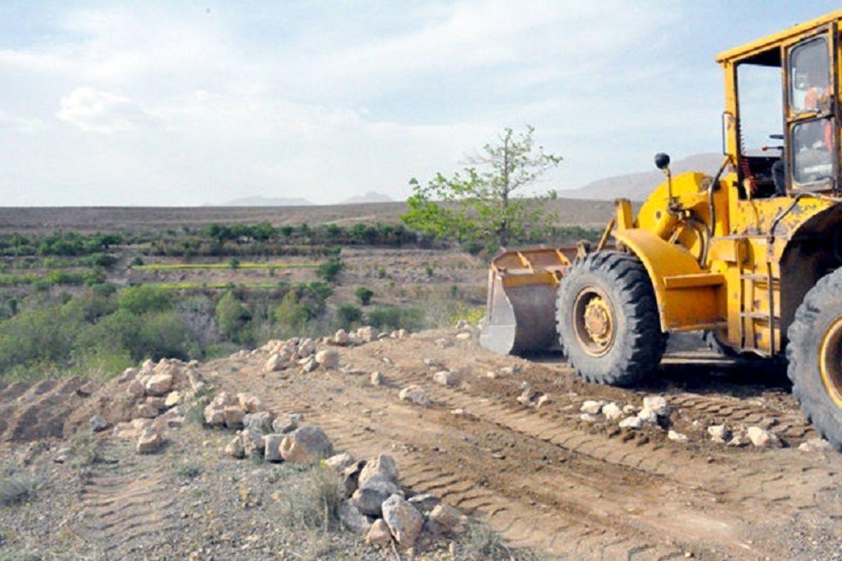 رفع تصرف 10 قطعه زمین کشاورزی در اصفهان