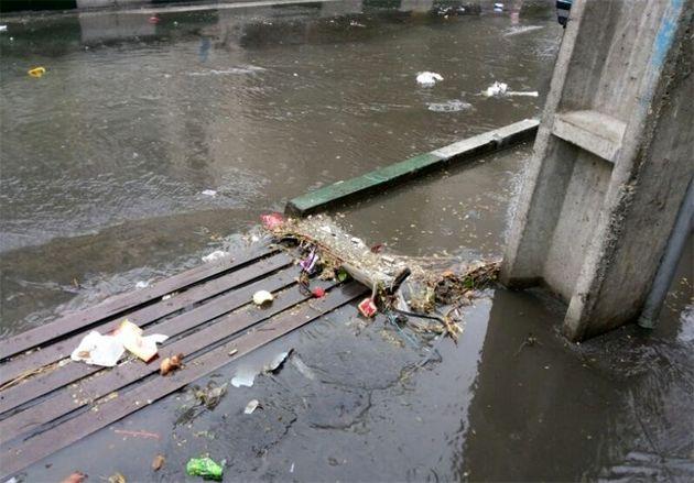 ورود سامانه بارشی به خوزستان و هشدار هواشناسی