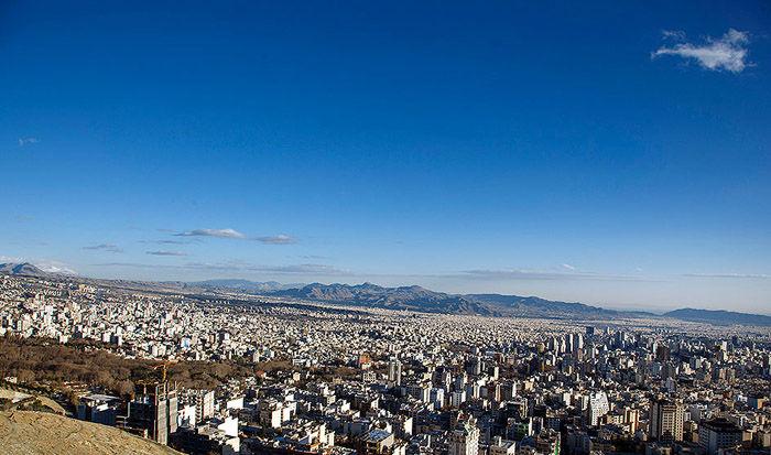 کیفیت هوای امروز 5 مرداد تهران سالم است