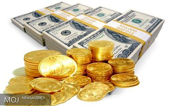 افزایش نرخ دلار و مسکوکات طلا در بازار آزاد