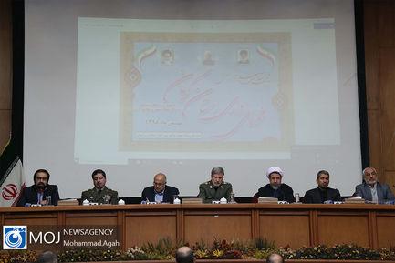 تجدید میثاق وزیر دفاع با شهید سپهبد حاج قاسم سلیمانی