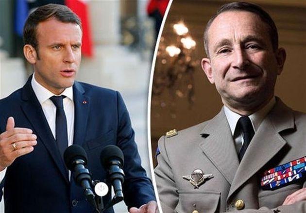 استعفای رئیس نیروهای مسلح فرانسه به دلیل درگیری با ماکرون
