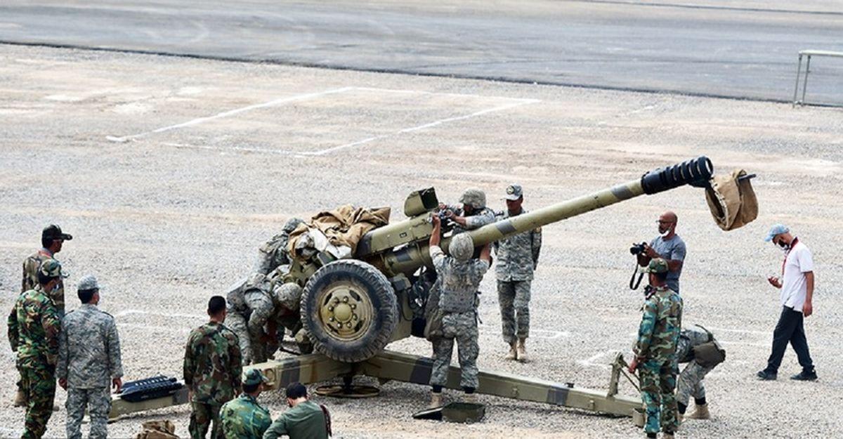 قهرمانی تیم نیروی زمینی ارتش در مسابقات بینالمللی «اربابان سلاح»