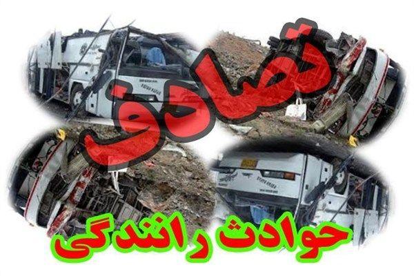 یک کشته و پنج مصدوم درتصادف جاده سمیرم - یاسوج