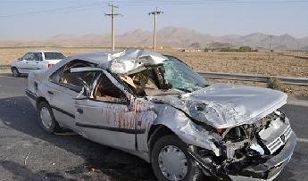 یک کشته و 2 مجروح در واژگونی سواری  پژو 405 در اصفهان
