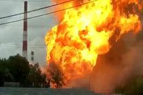 8 نفر در آتش سوزی نیروگاه برق نزدیک مسکو مجروح شدند