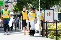 توکیو ۲۰۲۰ مسابقه جمعآوری زباله برگزار کرد