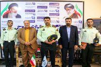 رییس کلانتری 17 اصفهان از دفتر خبرگزاری موج بازدید کرد
