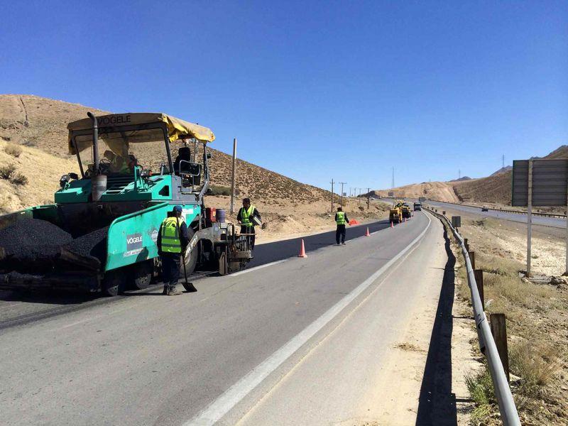 اجرای بیش از ۲۲۰ کیلومتر بهسازی محورهای مواصلاتی استان همدان
