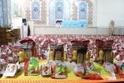 توزیع بیش از 900 بسته غذایی درب منازل خانوادههای زندانی