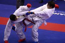 مازندران با کسب سه مدال طلا قهرمان مسابقات کاراته کشور شد