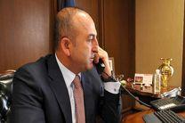 تماس تلفنی چاووش اوغلو با وزیر دفاع قطر