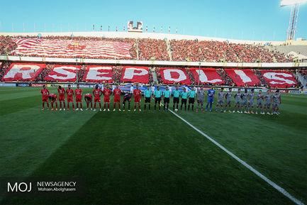 دیدار تیم های فوتبال پرسپولیس ایران و الدحیل قطر